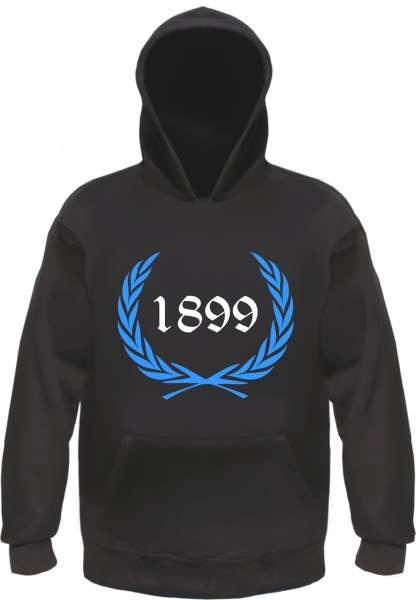 Individuelles Sweatshirt Lorbeerkranz + Zahl Wunschdruck