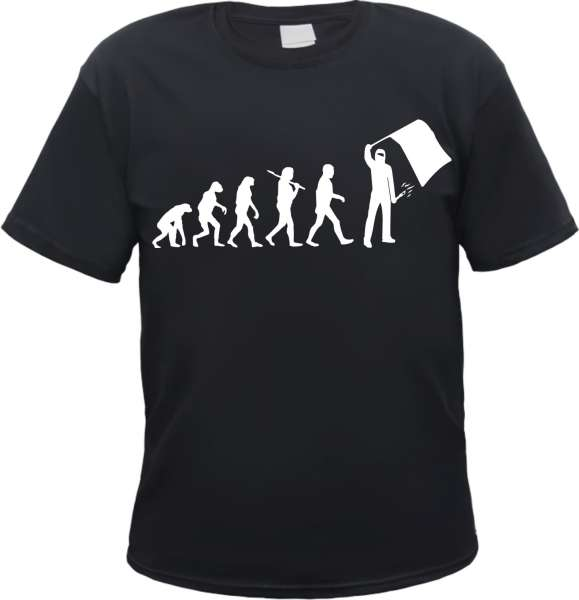 Ultras T-Shirt - Evolution - Schwarz