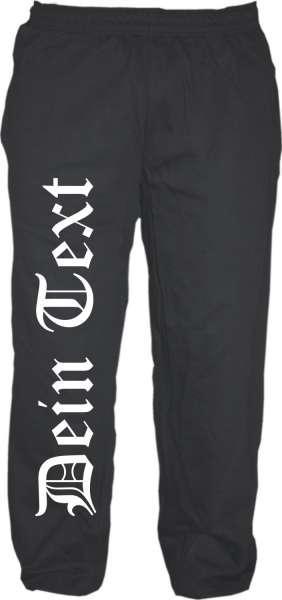 Jogginghose mit Wunschtext bedruckt - Sweatpants