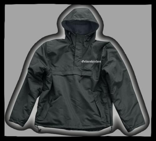 GELSENKIRCHEN Windbreaker / Stormfighter Jacket + bestickt