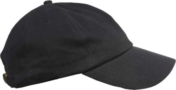 Cappy - Schlicht Schwarz - Schirmmütze