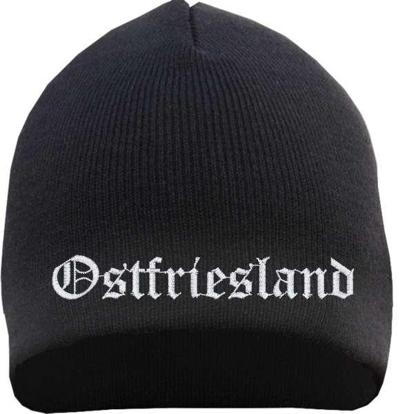 Ostfriesland Beanie - bestickt - Mütze