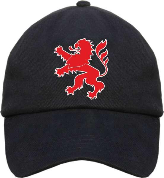 Bundesland: HESSEN Cappy + schwarz mit Wappen