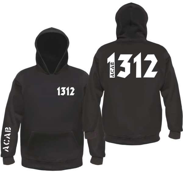 1312 / ACAB Sweatshirt - CRASS - Schwarz