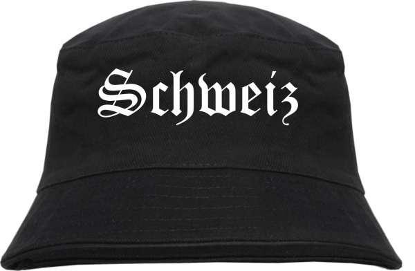 Schweiz Fischerhut - Altdeutsch - Bucket Hat