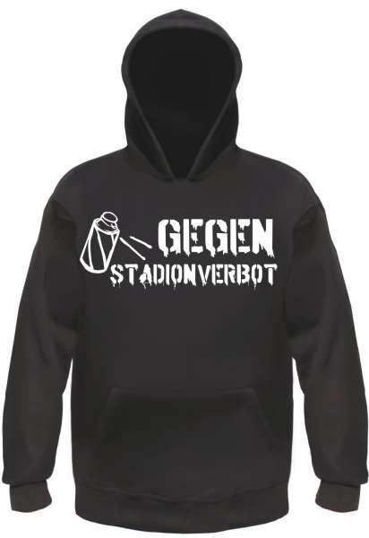 Gegen Stadionverbot Sweatshirt - Sprühdose - Schwarz