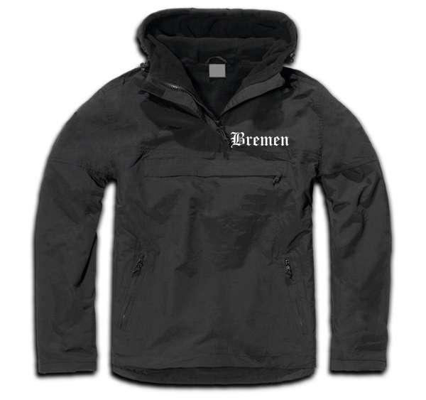 BREMEN Windbreaker / Stormfighter Jacket + bestickt