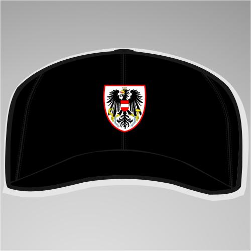 Österreich / Austria Cap / Schirmmütze mit Wappen +++ schwarz