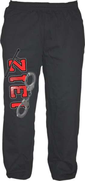 Jogginghose - 1312 Handschellen - Schwarz