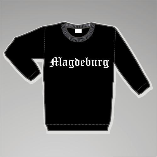 MAGDEBURG Sweatshirt - Altdeutsch - schwarz