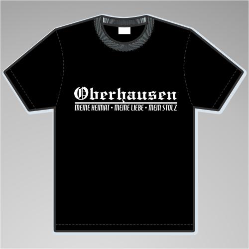 OBERHAUSEN T-Shirt + Meine Heimat + versch. Farben