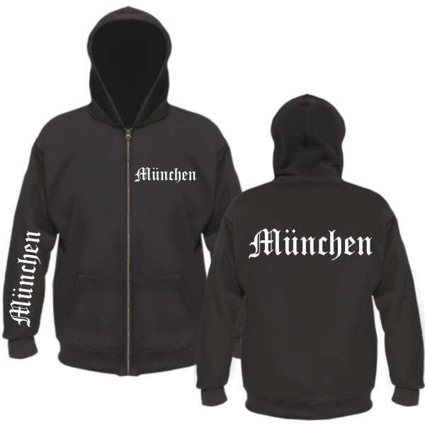 MÜNCHEN Kapuzenjacke - Altdeutsch - FAN