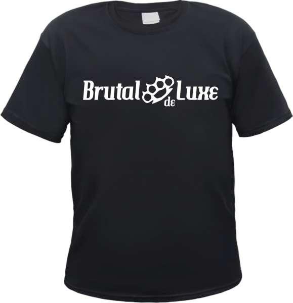 Brutal de Luxe T-Shirt - Schlagring - Schwarz