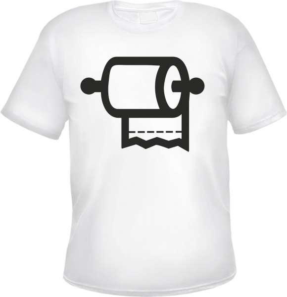 Angebot - Klopapier T-Shirt - Weiss