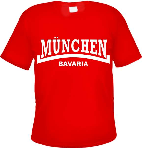 MÜNCHEN Bavaria T-Shirt - Linie - versch. Farben