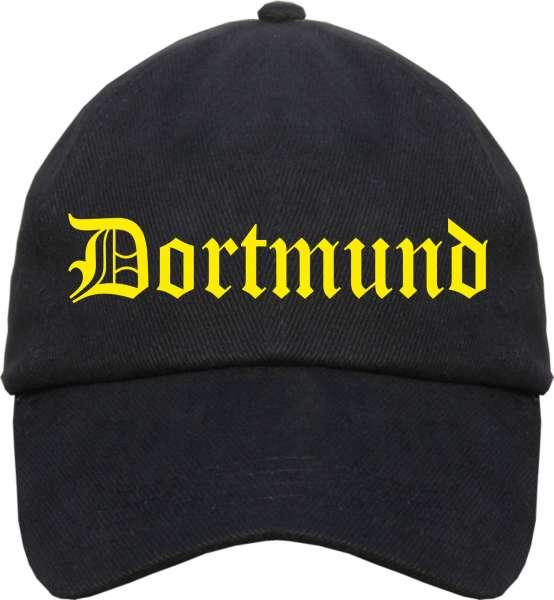 DORTMUND Cap + Altdeutsch + schwarz/gelb