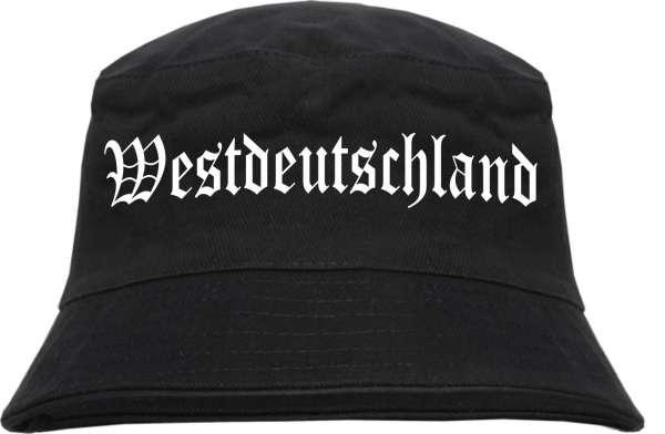 WESTDEUTSCHLAND Fischerhut - Altdeutsch - Bucket Hat