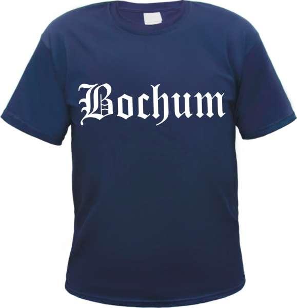 BOCHUM T-Shirt + Altdeutsch + Versch. Farben