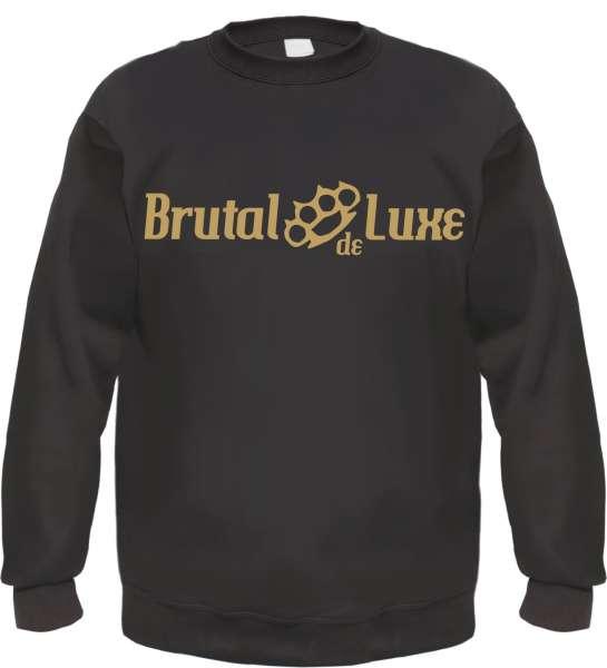 Brutal de Luxe Sweatshirt - Schwarz - Schlagring