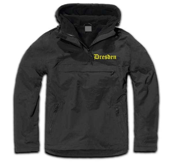 DRESDEN Windbreaker / Stormfighter Jacket + bestickt