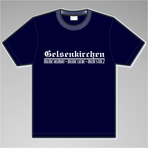 GELSENKIRCHEN T-Shirt + Meine Heimat + versch. Farben