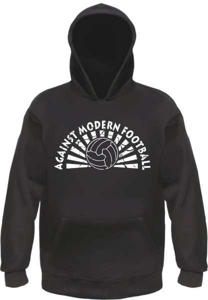 Against Modern Football Sweatshirt - Schwarz - Diverse Druckfarben
