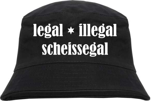 Fischerhut - LEGAL ILLEGAL SCHEISSEGAL - Bucket Hat