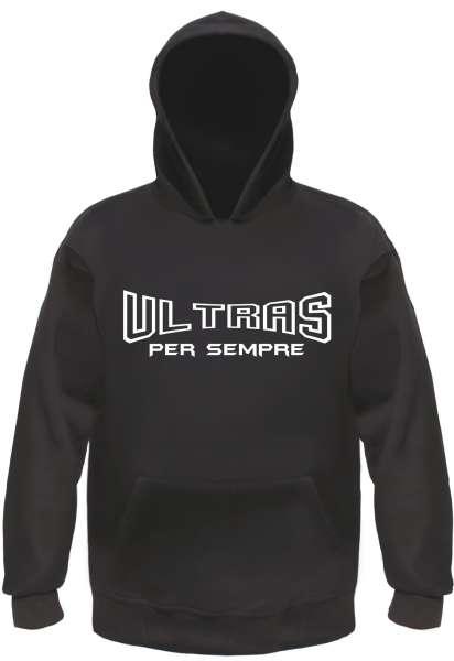 Ultras Per Sempre Sweatshirt - Schwarz/Weiss