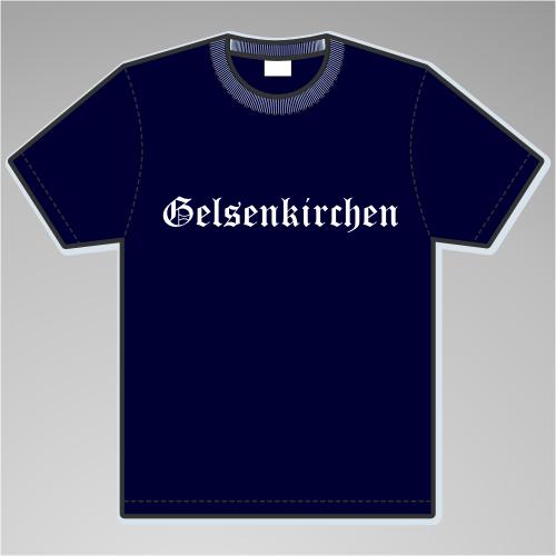 GELSENKIRCHEN T-Shirt + Altdeutsch
