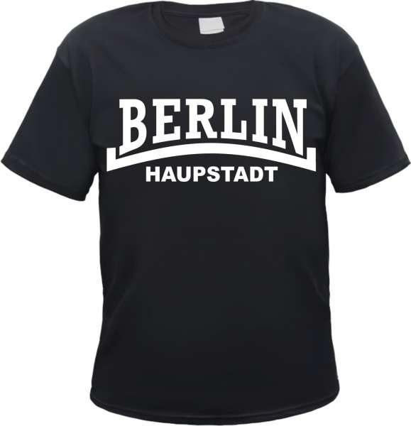 BERLIN T-Shirt + Haupstadt / Linie + Schwarz / Weiss