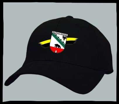Bundesland: SACHSEN-ANHALT Kappe/Cappy + schwarz mit Wappen