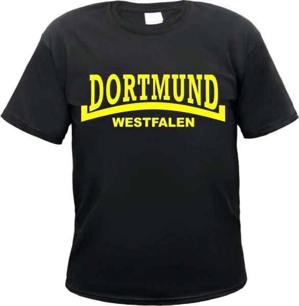 DORTMUND T-Shirt + Westfalen + schwarz/gelb