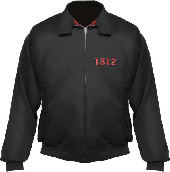 Harrington Jacke + 1312 Altdeutsch + schwarz