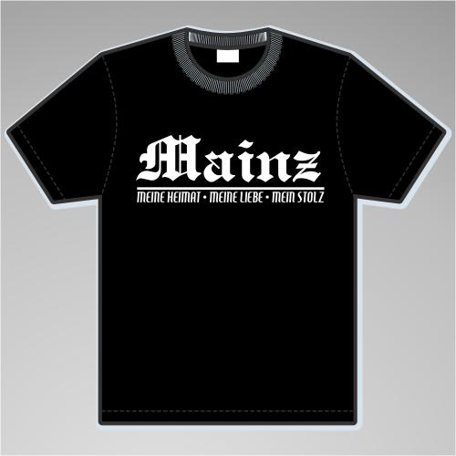 MAINZ T-Shirt + Meine Heimat + versch. Farben