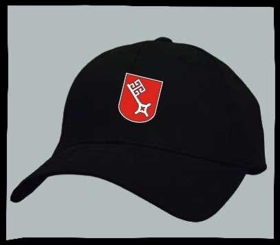 Bundesland: BREMEN Kappe/Cappy + schwarz mit Wappen