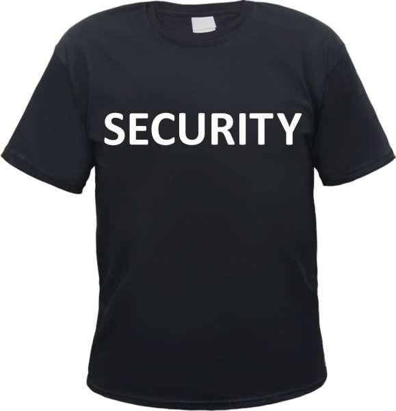 Angebot - Security T-Shirt - Schwarz Weiss