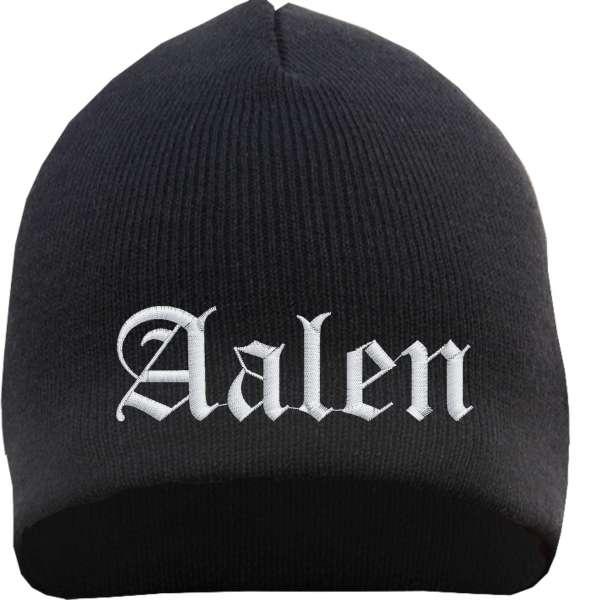 Aalen Beanie - bestickt- Mütze