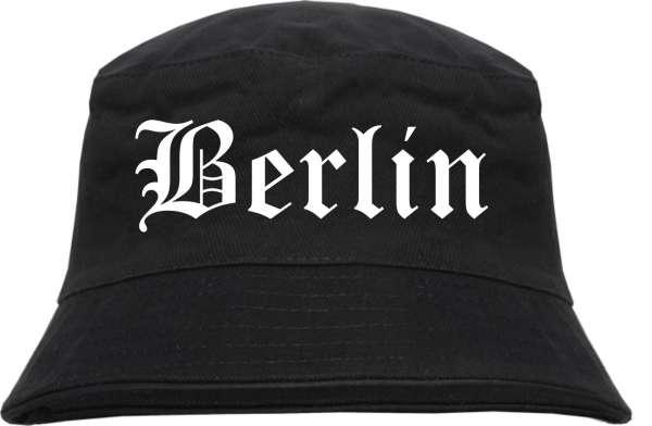BERLIN Fischerhut - Schwarz - Altdeutsch