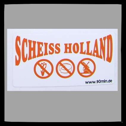 SCHEISS HOLLAND Aufkleber / Sticker