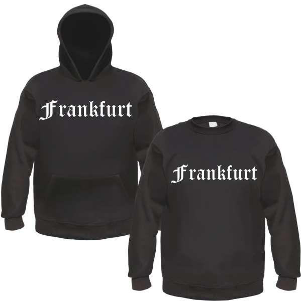 FRANKFURT Sweatshirt - Altdeutsch - Schwarz