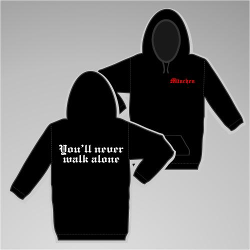 MÜNCHEN Sweatshirt + You'll never walk alone