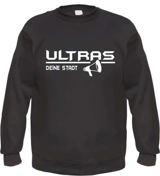 Ultras Megaphon Sweatshirt / Pullover mit Wunschtext