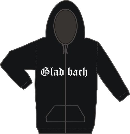 GLADBACH Kapuzen-Jacke + Altdeutsch + schwarz