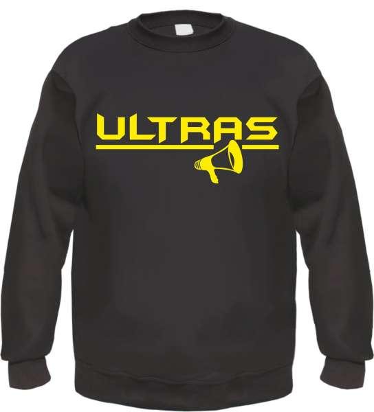 Ultras Sweatshirt - Megaphon - Druckfarbe wählbar