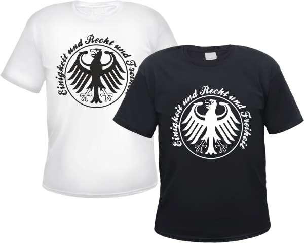 T-Shirt - Einigkeit und Recht und Freiheit - Deutschland