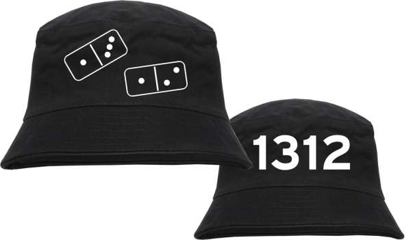 1312 Fischerhut - DOMINOSTEINE - Bucket Hat