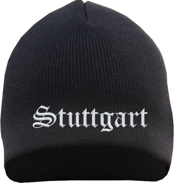 STUTTGART Beanie - bestickt - Mütze