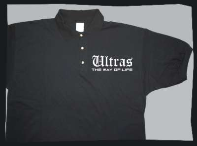 Ultras the way of life Poloshirt +++ schwarz/weiss