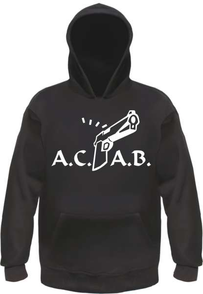 A.C.A.B. Knarre Sweatshirt - Schwarz