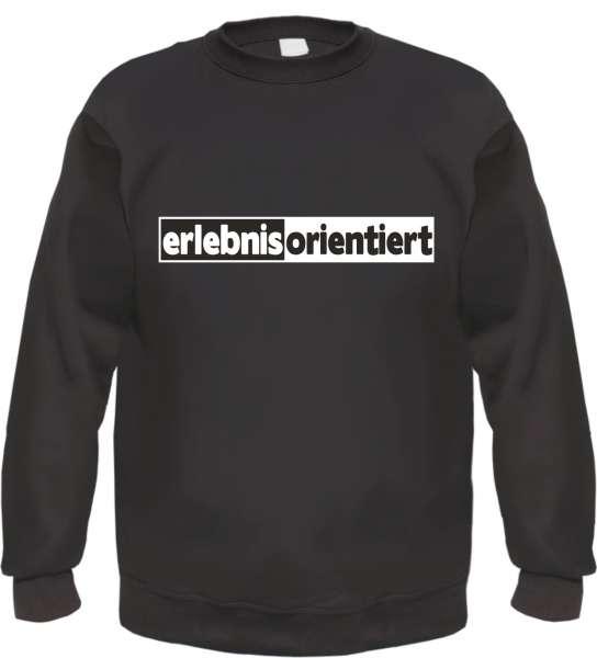 erlebnisorientiert Sweatshirt - Schlagring - Schwarz